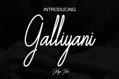 Galliyani Handwritten Font Style Product Image 1