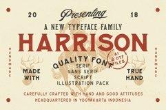 Harrison Font Family Product Image 1