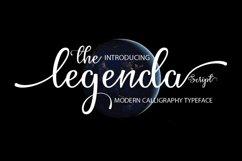 Web Font The Legenda Script Product Image 1