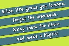 Lime Mojito - A Fun Serif Font Product Image 3