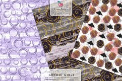 Spooky Wicca Girl Graphics Pattern Halloween DP009 Product Image 4