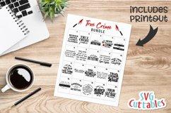 True Crime Bundle SVG | Murder SVG Bundle Product Image 21