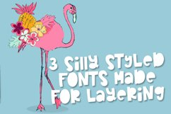 Pearapple - A Bouncy Font Trio With Outline and Stripes Product Image 4