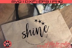 Shine Like the Universe is Yours - Distressed/Smooth - Rumi Product Image 1