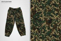 USA Flecktarn Camouflage Patterns Product Image 5