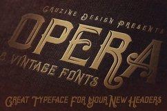 Opera Vintage Typeface Product Image 4