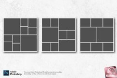 12x12 Photo Collage Templates for Photographers Product Image 3