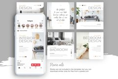 Interior Designer Instagram Posts Template | CANVA Product Image 9