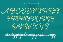 Authentica - A Simple Stylish Monoline Script Product Image 7