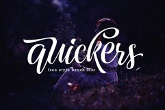 Quickers Typeface Product Image 1