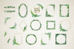 Midori Green Leaf Watercolor Set, Hand-Painted Collection Product Image 6