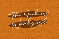 Wonkyest Handwritten Script Font Product Image 3