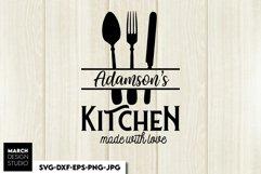 Kitchen SVG, Kitchen Quotes SVG, Kitcen decor SVG, Bless svg Product Image 1