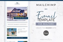 Email Template for Mailchimp & Canva | Real Estate | Realty Product Image 1