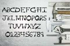 Mr Fix It - A Tool Font for Handy Men and Women Product Image 2