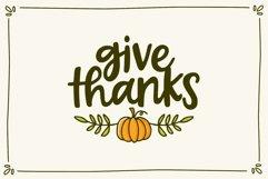Forever Grateful Font & Doodles Product Image 2