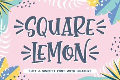 SQUARE LEMON Product Image 1