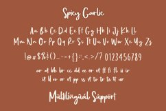 Web Font - Spicy Garlic Product Image 4