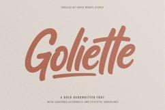 Goliette   Bold Handwritten Font Product Image 4