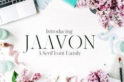 Jaavon Serif Font Family Product Image 1