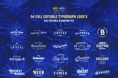 Huge Typographic Pack 60 Logos ! Product Image 3