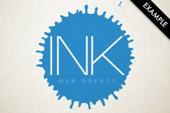 Ink drops vector Product Image 3