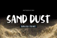 Sand Dust Font Product Image 1
