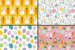 Easter Bunny Digital Paper / Bright Easter Seamless Patterns Product Image 3