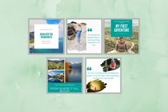 Instagram Post Template- Travel Blogger Product Image 3