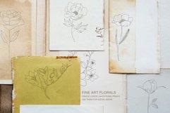 Fine Art Florals - Pencil Sketches Product Image 2