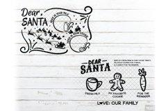 Santa Tray SVG Bundle Christmas with PNG, DXF, EPS, JPG Product Image 2