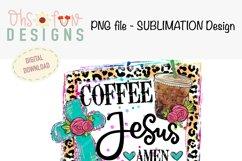 Sublimation bundle | coffee Jesus cross| animal prints Product Image 3