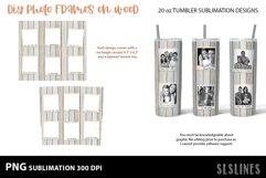 DIY Photo Frames on Wood - Tumbler Sublimation Designs 20o Product Image 4