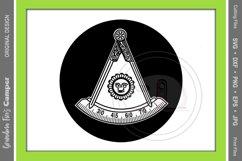 Masonic Past Master SVG Bundle, Five Framing Options Product Image 3