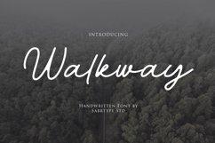 Walkway Font  Bonus Vector Product Image 1