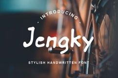 Jengky Font Product Image 1