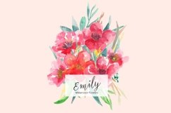 Emily Watercolors Flowers Product Image 1