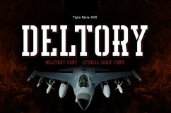Deltory - Military Font Product Image 1