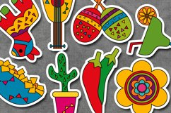 Cinco de mayo fiesta illustration / Mexican 5th May design Product Image 2