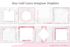 Rose Gold Canva Instagram Templates Product Image 1