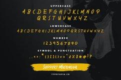 Sabotase - The Brush Font Product Image 2