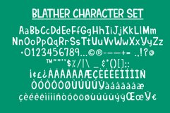 Blather | Handwritten Display Font Product Image 3