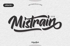 Mistrain Modern Hand Lettering Product Image 1