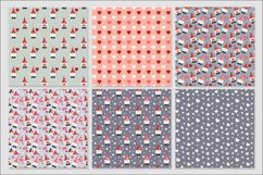 Gnome Valentines digital papers - 30 Seamless Designs Product Image 5