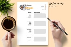 Modern Resume CV Template for Word & Pages Paisley Edwards Product Image 6