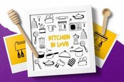 Web Font Kitchenware Dingbat Product Image 5