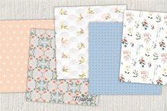 "Digital Paper Pack ""Paper Umbrellas"" Set 01 Product Image 3"