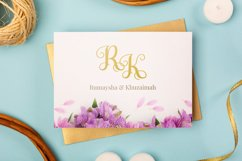 Swirly Letters - Handlettered Monogram Product Image 3