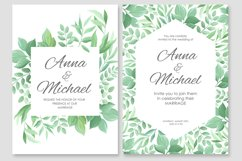 Wedding invitations vector set #2 Product Image 5