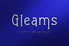 Gleams Serif Display Product Image 1